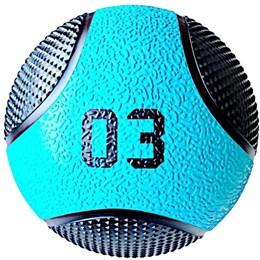 Kit 3 Medicine Ball Liveup PRO 3 4 e 5 kg Bola de Peso Treino Funcional LP8112