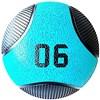 Kit 3 Medicine Ball Liveup PRO 4 5 e 6 kg Bola de Peso Treino Funcional LP8112