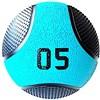 Kit 4 Medicine Ball Liveup PRO 4 5 6 e 8 kg Bola de Peso Treino Funcional LP8112