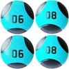 Kit 4 Medicine Ball Liveup PRO 6 e 8 kg Bola de Peso Treino Funcional LP8112