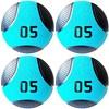 Kit 4 Medicine Ball Liveup PRO C 5 Kg Bola de Peso Treino Funcional LP8112-05