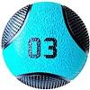Kit 5 Medicine Ball Liveup PRO 3 4 6 8 e 10 kg Bola de Peso Treino Funcional LP8112