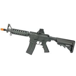 Kit Airsoft Rifle Fuzil M4A1 VG M4RIS CQB 160 FPS + Pistola Spring VG GK-V307 150 FPS