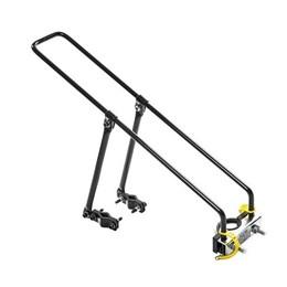 Kit Bagageiro para Bicicleta Aro 26 27,5 29 + Cadeirinha Infantil Traseira até 25kg Preto
