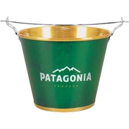 Kit Balde de Gelo Patagonia 5L com Abridores + Conjunto Churrasco 3 Peças Fork
