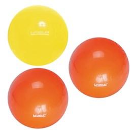 Kit Bola Suíça para Pilates 75 CM LIVEUP LS3221 75 + 02 Bolas 25 CM Overball LIVEUP LS3225