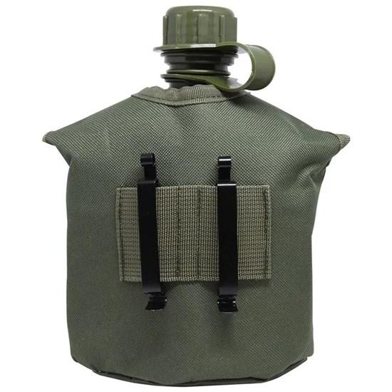 Kit Cantil Tático 1 Litro com Caneca e Espiriteira Nautika Apache Verde