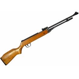 Kit Carabina de Pressão AR+ B3-3 5.5mm Coronha em Madeira + Chumbinho 5.5mm Diabolô 250 Unidades