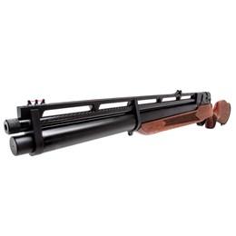 Kit Carabina de Pressão PCP R8 Madeira + Kit de Recarga PCP + Cilindro de Ar Alta Pressão