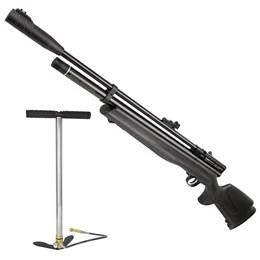 Kit Carabina Pressão Beeman PCP 1336 5.5mm + Bomba Pneumática Manual PCP