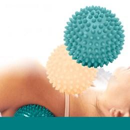 Kit com 2 Bolas Massageadoras LIVEUP LS3302 Cravos Relax Ball