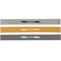 Kit de 3 Faixas Elásticas Circulares Mini Bands - VOLLO VP1007