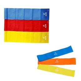 Kit de Faixas Elásticas ACTE T13 + 3 Mini Bands 3 Níveis T71