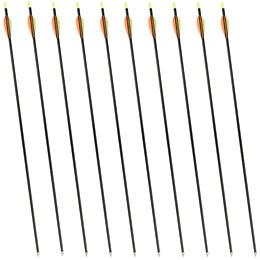 Kit de Flechas 82,5cm em Fibra de Vidro para Arcos Manuais - Nautika 411580