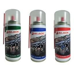 Kit de Limpeza para Armas 2 Solventes com Lubrificante Knockout ALK