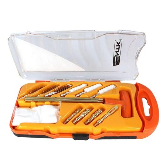 Kit de Limpeza Swap Nautika Tático para Armas com 12 Peças e Estojo