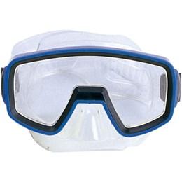 Kit Infantil de Mergulho Pacific com Nadadeiras Máscara e Snorkel Azul - Nautika