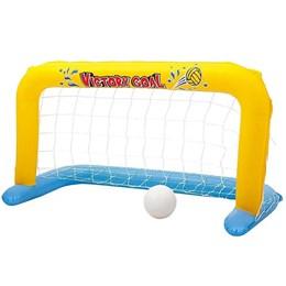 Kit Inflável Futebol de Piscina Mor Play Center com Rede e Bola