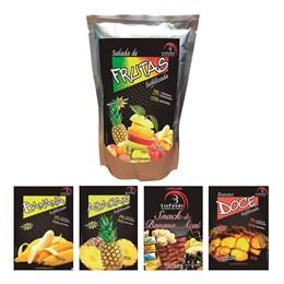 Kit Liofoods: Salada de Frutas e Banana com Açaí, Abacaxi, Batata Doce e Banana em Pedaços 1 Porção Cada