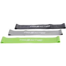 Kit Mini Bands com 3 Intensidades Band Loops - ProAction G120