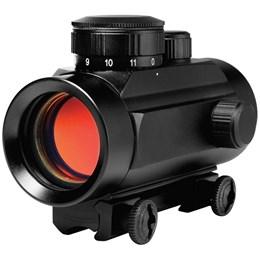 Kit Mira Holográfica Red Dot 11mm CBC 1 x 30 + 600 Esferas de Aço 4.5mm Rossi Airgun