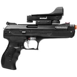 Kit Pistola Airgun Beeman 2006 5.5mm + 1250 Chumbinhos Snyper Diabolô 5.5mm