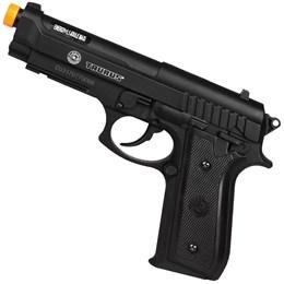 Kit Pistola Airsoft 360 FPS Co2 Taurus PT92 Cybergun + 2 Minis Cilindros CO2 + 2000 BBs + Maleta