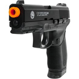 Kit Pistola Airsoft Cybergun Taurus PT 24/7 295 fps BAXS + Munição BBs 0,12g BB King 1000 Unidades