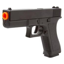 Kit Pistola Airsoft Vigor GK-V307 150 FPS + 2000 BBs + 5 Alvos de Papel