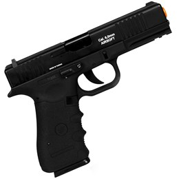 Kit Pistola de Airsoft CO2 Win Gun W119 Semi-Automática + 2 Minis Cilindros CO2 12g + 2000 BBs 0,20g