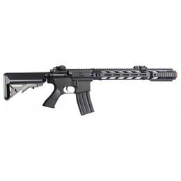 Kit Rifle Airsoft CYMA CM518 M4A1 400 fps AEG Preto + Munição BBs 0,12g BB King 1000 Unidades
