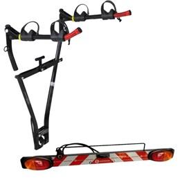Kit Transbike Bola para 2 Bicicletas Altmayer AL-45 + Sinalizador de Encaixe em Transbike
