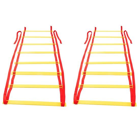 Kit Treinamento Escada Agilidade 16 Degraus + Escada Agilidade 8 Degraus Zstorm