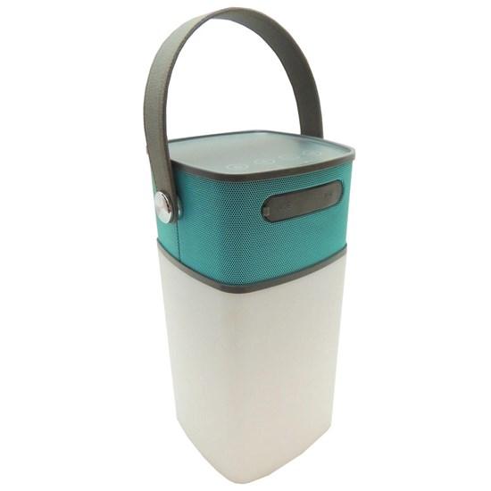 Lâmpada 150 Lúmens com Caixa de Som Bluetooth Integrada Speaker Lamp - Guepardo LC1000