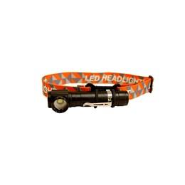 Lanterna de Cabeça da Rotony Multifunção Lanterna Tática com Encaixa p/ Faixa de Cabeça