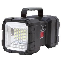 Lanterna Holofote Nautika Monster 1500 Lumens Recarregável via USB 2 Focos
