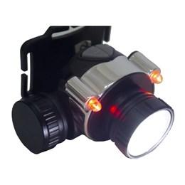 Lanterna Led de Cabeça Rotony Recarregável Com 2 Níveis Forte, Fraco e com Pisca Laterais