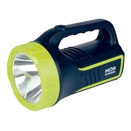 Lanterna Recarregável Mor Holofote Power Led 265 Lúmens Bivolt