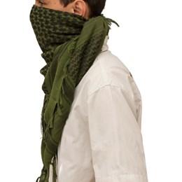 Lenço Para Proteção Shemagh Tático Airsoft Verde Nautika