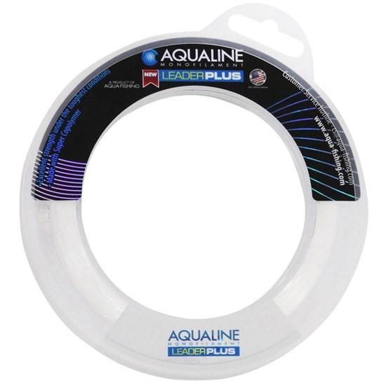 Linha de Pesca Leader Plus Transparente 0,45mm/20Lb/60m - Aquafishing