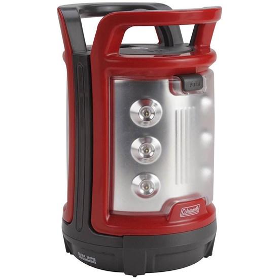 Luminária de LED 4D Duo 150 Lúmens 2 Painéis de Luz Vermelha/Preta Coleman