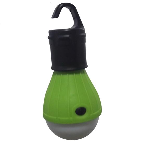 Luminária Lâmpada ALFACELL ALL51118 3 LEDs a Pilha Verde