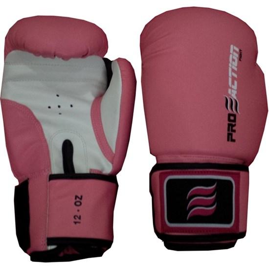 Luva de Bate Saco Profissional Branca / Pink Proaction F001