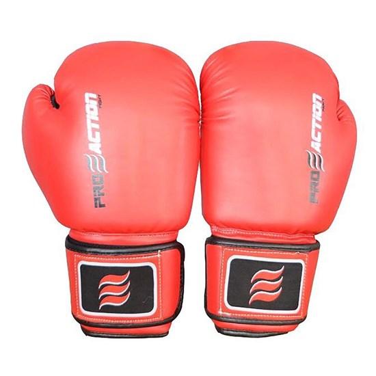 Luva de MMA Treinamento 12oz Vermelho – ProAction F083