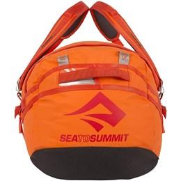 Mala de Viagem Duffle Bag Sea To Summit 65 Litros Nomad Laranja