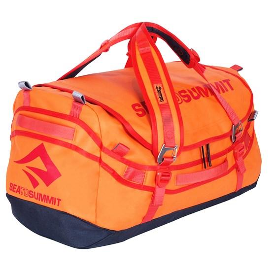Mala de Viagem Sea to Summit 45 Litros Duffle Bag Bolsa Marinheiro Laranja