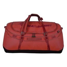 Mala de Viagem Sea to Summit Duffle Bag 90 Litros Vermelho