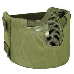Máscara de Proteção Airsoft Meia Face Telado Verde V2 - Evo Tactical EV-038 OD