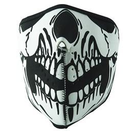 Máscara NTK Tático para Airsoft Paintball Caveira em Neoprene