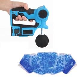 Massageador Liveup Massage Gun Profissional 6 Níveis com Bolsa Térmica Relax